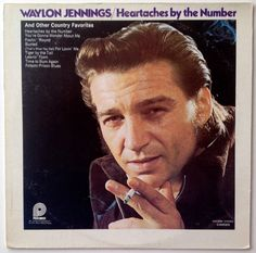 Waylon Jennings -  Heartaches By the Number and Other Country Favorites LP Vinyl Record Album, Pickwick - CAS-2556, Folk, Country, 1972