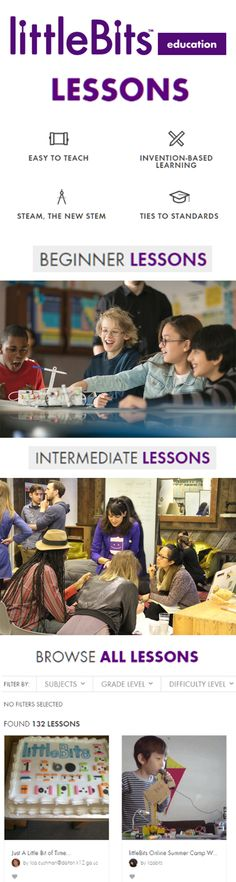 """Unlock exclusive educator content, including """"How to start a STEAM Program in Your School"""" and the """"Librarian's Guide to littleBits & STEAM"""" by joining the littleBits educator family now!"""