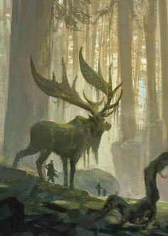 irish elk fantasy - Google Search