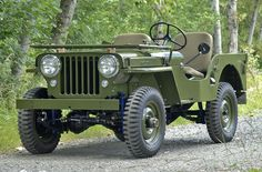 1947 Willys Jeep CJ-2A Maintenance/restoration of old/vintage vehicles: the material for new cogs/casters/gears/pads could be cast polyamide which I (Cast polyamide) can produce. My contact: tatjana.alic@windowslive.com