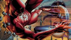 1920x1080 comics Daredevil Psylocke Marvel Comics comics girls Avengers vs X-Men /  1920x1080 Wallpaper