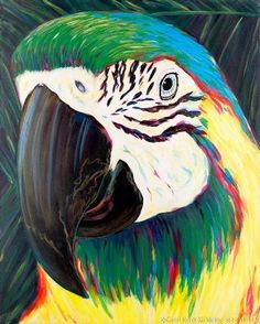 Parrot Giclee (2) by Carol Korpi-McKinley | Animal Art | Pinterest ...