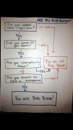 Are you Rob Base??