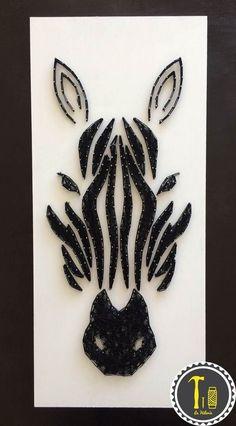 Creative Diy String Art Ideas Projects (Step-By-Step Tutorial) Nail String Art, String Crafts, Diy Wall Art, Diy Art, Arte Linear, Diy And Crafts, Arts And Crafts, String Art Patterns, Creation Deco