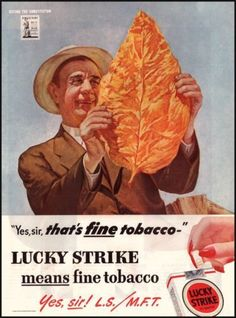Lucky Strike Cigarettes Vintage Ad from 1944- Art by Cosmo deSalvo, WWII Collectible, Vintage Tobacco Art, Cigarette Ad Art, Gifts