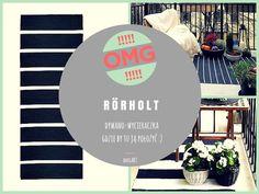 anegART: RÖRHOLT- doskonały do mieszkania jak i na balkon