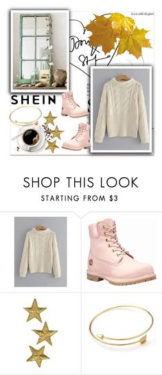 """""""Shein Contest"""" by sabii-b ❤ liked on Polyvore featuring Timberland"""
