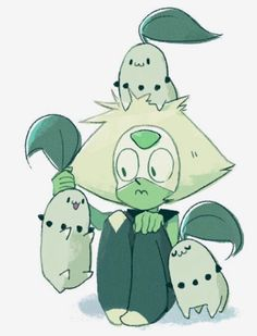 pokemon, peridot, and steven universe image