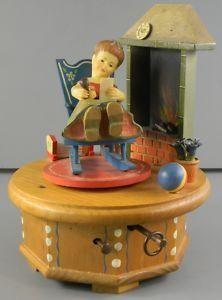 Smart Vintage 1940-50 Carillon Radio Vintage Con Portagioie Goods Of Every Description Are Available Complementi D'arredo