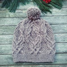 Ravelry: avelinux's father cables - free knitting pattern