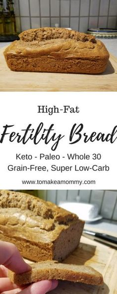 A delicious and easy fertility recipe that is high fat, low carb, and gluten free!  Also Whole 30, Keto, Paleo and Clean Eating compliant!