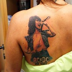 bon scott tattoos - Google Search