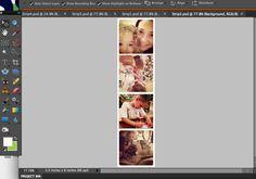 Instagram photo strips