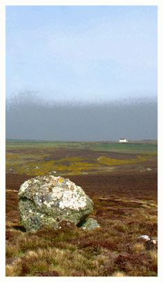 """""""Cornish Landscape"""". Limited edition giclee print. Photographed at Roskestal West Cliff, St Levan, Cornwall."""