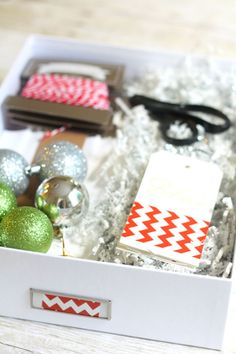 Be Prepared with a Holiday Wrapping Box
