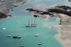 Chausey, l'archipel aux 365 îlots vu ciel - Edition du soir Ouest France…