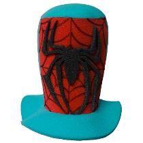 Sombrero De Spiderman Para Fiestas Eventos Bodas Y Cotillón Gorros Lokos 37aa2dbc4141
