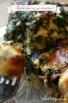Greek Recipes, Quiche, Pizza, Meat, Chicken, Food, Pies, Recipes, Essen