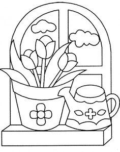 Mi colección de dibujos: Dibujos de flores para colorear