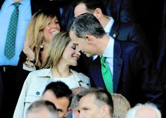 King Felipe and Queen Letizia of Spain celebrated their 12th anniversary at the Copa del Rey football final championship on May 22, 2016 at Vicente Calderon stadium in Madrid.