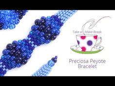 Preciosa Peyote Bracelets | Take a Make Break with Sarah