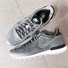 """Treat your feet! The Nike Internationalist Fleece Sneakers are so plush and comfy you won't want to take them off. Lucky they pair perfectly with any…"""