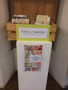 Selección de libros de cocina para este verano que encontraréis en la Sección de Cocina, 1ª planta de la Biblioteca. Magazine Rack, Storage, Home Decor, Display Stands, Proposals, Step By Step, Activities, Summer Time, Plants