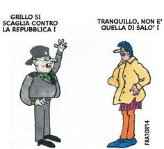 Repubblica out – Solovignette
