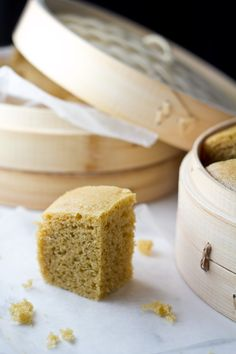 mah lai goh malaysian steamed cake