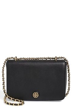 $395.00 Tory Burch 'Robinson' Leather Shoulder Bag | Nordstrom