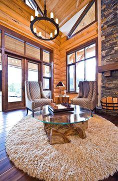 Okanagan Log Home, Sticks and Stones Design Group