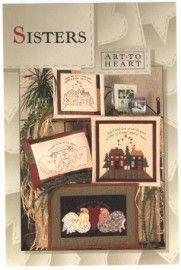 Art To Heart - Sisters (patroon) | Art To Heart | kwibbels