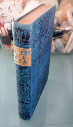 'Toilers of the Sea' -- Victor Hugo, c1900, romance on Island of Guernsey, involving shipwreck and salvage  'Toilers of the Sea' (French: Les Travailleurs de la Mer) is a novel dedicated to the island of Guernsey, where Hugo spent 19 years in exile. Hugo uses the setting of a small island community to transmute seemingly mundane events into drama of the highest calibre.