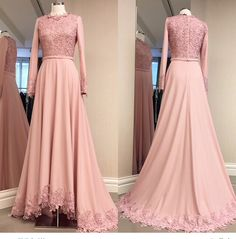 Cheap long sleeve evening, Buy Quality long sleeve evening gown directly from China evening gown Suppliers: ZYLLGF Bridal A Line O Neck Vestidos De Noche Largos Long Sleeve Evening Gowns Princess With Appliques Sale Online Muslim Evening Dresses, Hijab Evening Dress, Long Sleeve Evening Gowns, Muslim Dress, Muslim Fashion, Hijab Fashion, Fashion Dresses, Ball Dresses, Bridal Dresses