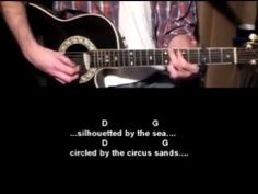 Mr Tambourine Man - Bob Dylan - How To Play - Guitar lessons online - YouTube