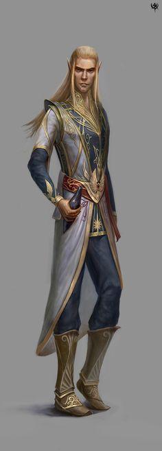 Mal'nor Nyrassi; High Elven Priest