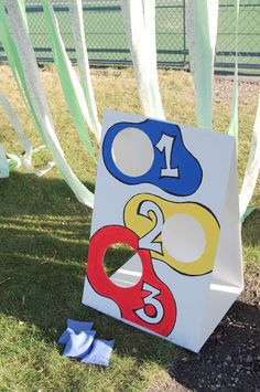 Homemade Carnival Game bean bag toss do toopy, binoo, patchy patch? use bristol board? Carnival Party Games, Homemade Carnival Games, Carnival Games For Kids, Fall Carnival, Carnival Birthday Parties, Circus Birthday, Circus Party, Birthday Ideas, Carnival Prizes