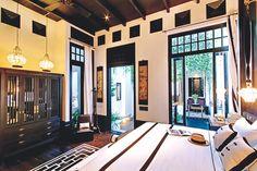 Los espacios están decorados con un estilo asiático tailandés.