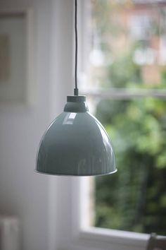 Harrow Pendant Light Shutter Blue