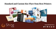 Shine Prints is the Best MultiColor Offset Printing Services Chennai. Get printing services for your business like Leaflets, Flyers, Booklets, etc. Leaflet Printing, Offset Printing, Flyer Printing, Printing Services, Feel Good Friday, Best Printers, Chennai, Booklet, Digital