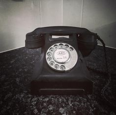 #telephone #vintage #blackandwhite #blackandwhitephotography by woody750
