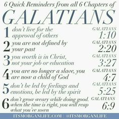 Lessons from Galatians
