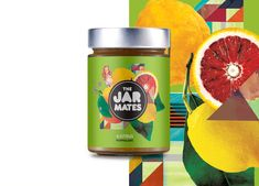 This limited marmalade and chutney; The Jar Mates is inspired by fruit, kaleidoscopes, flowers, pin-up ...