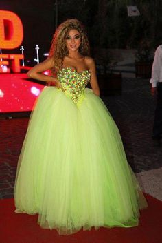 Myriam Fares 2015 Hot Pageant Dresses Ball Gown Sexy Sweetheart Colorful Beaded Crystal Bodice Pleats Floor Length Formal Evening Dress