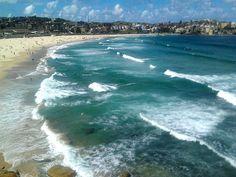 Bondi Beach, Sydney - one of 12 beaches in Australia on our MUST visit list: http://www.ytravelblog.com/beaches-in-australia/