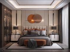 Luxury Bedroom Design, Master Bedroom Interior, Room Design Bedroom, Bedroom Furniture Design, Bedroom Styles, Interior Design, Modern Luxury Bedroom, Contemporary Bedroom, Luxurious Bedrooms