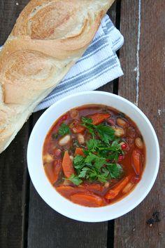 Mediterranean Bean Soup