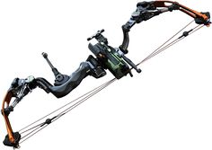 Prototype compound bow developed by Accuracy international