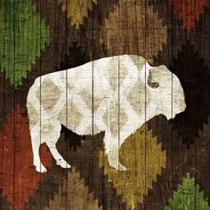 Trademark Fine Art 'Southwest Lodge Buffalo' Canvas Art by Michael Mullan, Size: 24 x Black Canvas Artwork, Framed Artwork, Canvas Prints, Big Canvas, Canvas Size, Lodge Decor, Print Format, 5 D, Wrapped Canvas