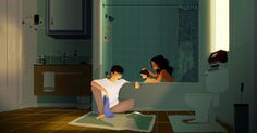 Bath Time by PascalCampion